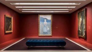 Guggenheim de New York. El Salón de la Rose+Croix