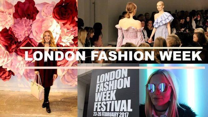Todo preparado para la Semana de la Moda de Londres 2017