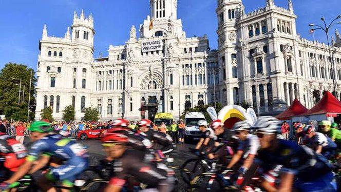 La Vuelta Ciclista a España termina en Madrid