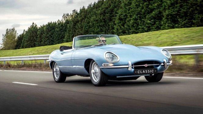 Jaguar E-Type Concep Zero: el vehículo electrónico más bello del mundo