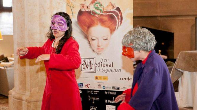 El Tren Medieval regresa a Sigüenza, Capital del Turismo Rural 2017