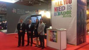 Ecuador participa activamente en el World Routes 2017