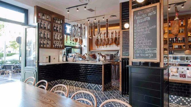 Señorío de Montanera abre en Madrid su primera tienda-bar de productos ibéricos