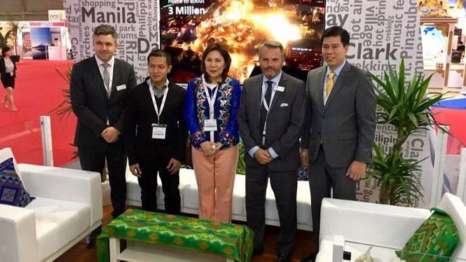 La secretaria de turismo de Filipinas visita España