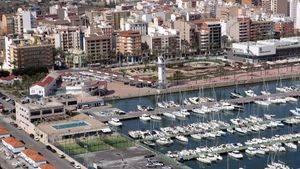 Grao, plaza del Mar y puerto