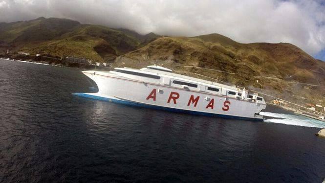 Una modificación de horario garantizará la conexión marítima entre El Hierro y Gran Canaria