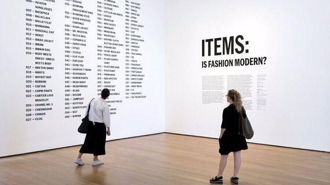 Brooks Brothers participa en la exposición Artículos: ¿Es moderna la moda? del MoMA