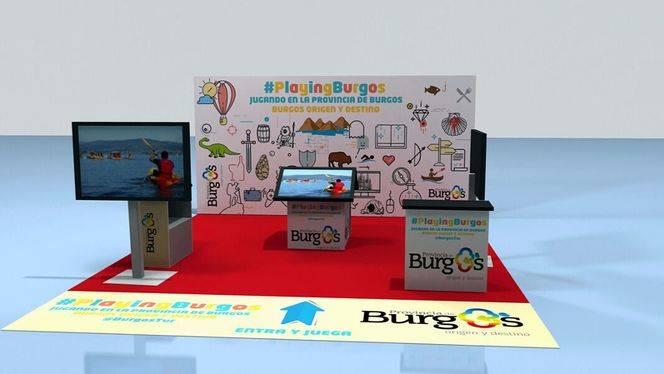 La provincia de Burgos se promociona en Xanadu con un stand interactivo