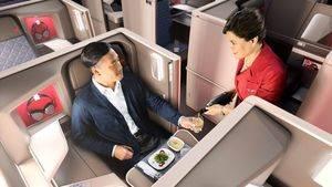 Los pasajeros de Delta One pronto podrán reservar su comida por anticipado