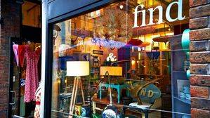 Vintage shop in Dublin