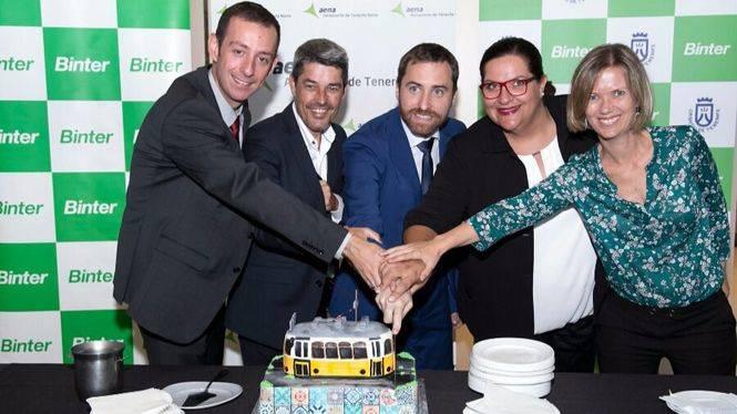 Binter inaugura la ruta directa entre Tenerife Norte y Lisboa