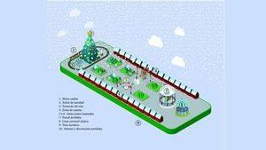 Plano Plaza Cervantes