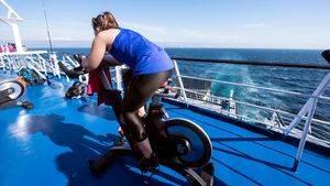 Cruzando el Estrecho de Gibraltar en Bicicleta