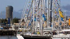 Comienza la Atlantic Rally for Cruises Plus en las Palmas de Gran Canaria