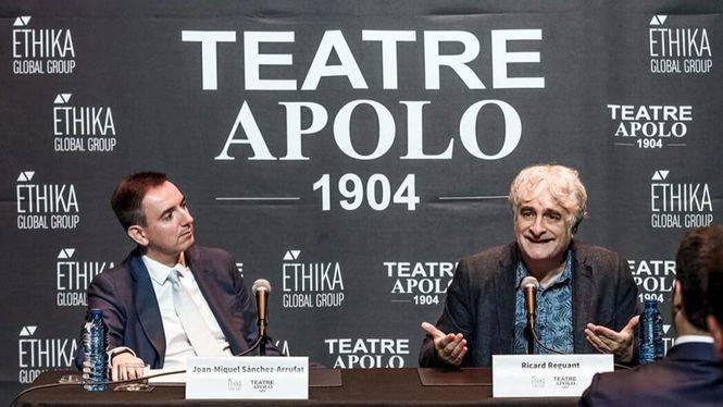 """Ricard Reguant: """"Me divierte y me gusta mucho dirigir teatro"""""""