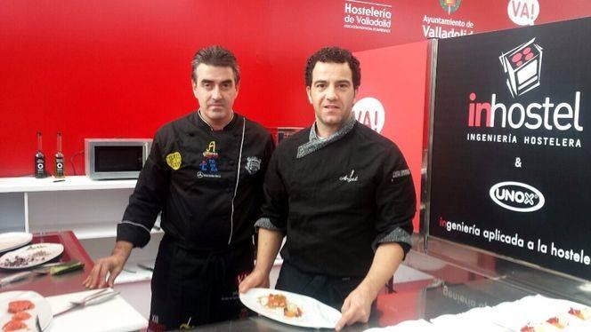 Restaurante Casares en el Concurso Nacional de Pinchos y Tapas de Valladolid