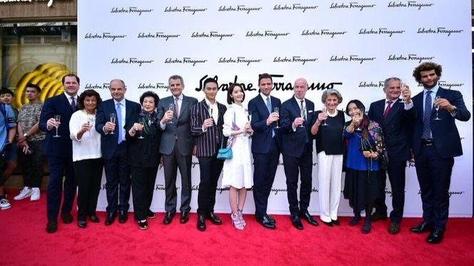 Salvatore Ferragamo celebró la reapertura de la flagship store de Canton Road