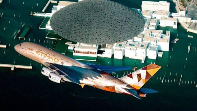 Etihad Airways participa en la apertura del Louvre Abu Dhabi