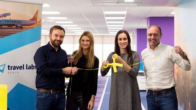 Ryanair inaugura en Madrid sus oficinas de Travel Labs Spain