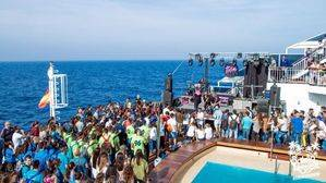 Saïdia Festival. Fiesta en barco