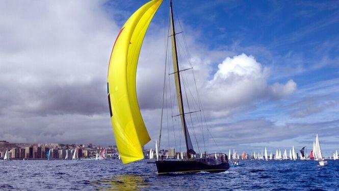 Las Palmas de Gran Canaria despide a los veleros de la 32 regata ARC