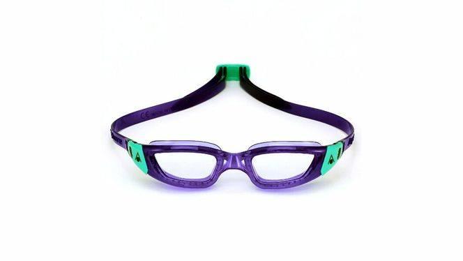 La primera gafa acuática femenina que cuida el cabello