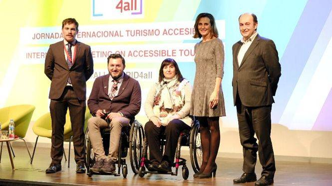 Jornada Internacional sobre Turismo Accesible cierra el evento All Madrid 4all