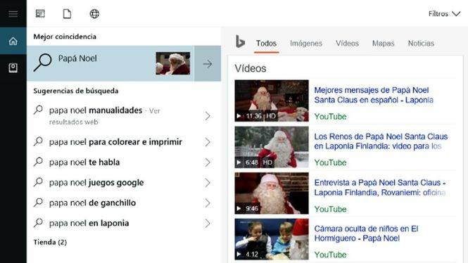 Cortana se contagia de espíritu navideño