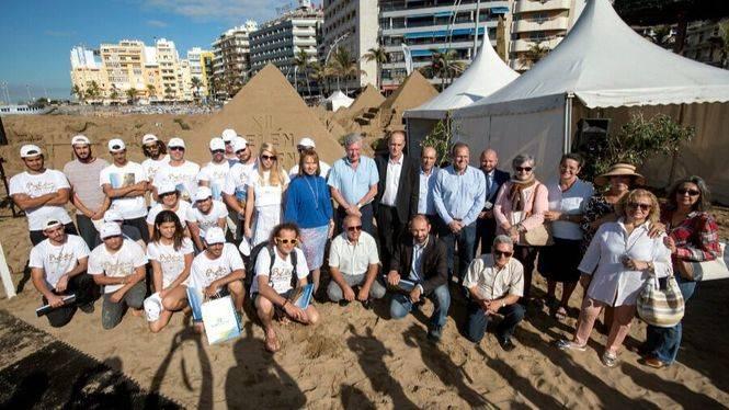 La bienvenida al 2018 en Las Palmas de Gran Canaria