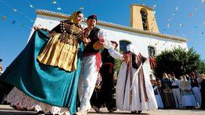 Baile campesino tradicional. Santa Gertrudis