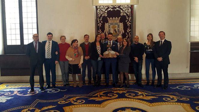 Diego Rueda Gutierrez, ganador de la IX edición del Premio Madrid Acoge