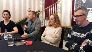 'Black Apple y los párpados cerrados', con Chevi Muraday y Paloma Sainz-Aja