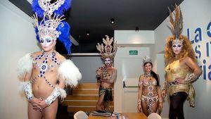 Esther Pérez, Reina del Carnaval 2017, Drag Orión, Drag La Tullida y Drag Shetlas