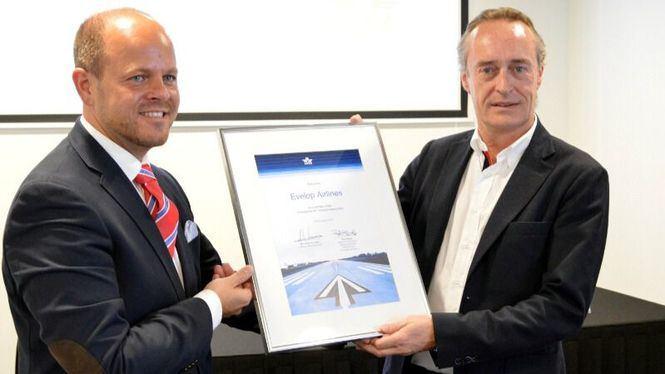 Evelop nuevo miembro de la IATA