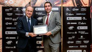 Alfonso Mesa (dcha), del departamento de Calidad y Medio Ambiente de Vincci