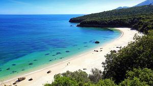 Playa Galapinhos.Parque Natural de Arrábida