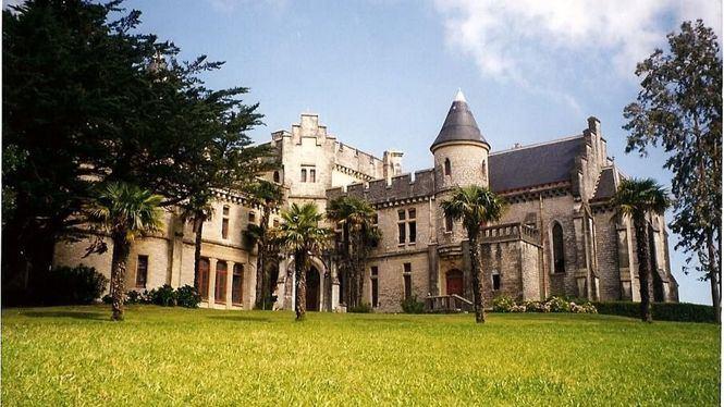 El Château D'Abbadie de Hendaya, una joya amurallada e icónica