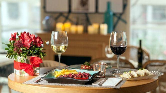El restaurante La Vanduca regala flores por San Valentin