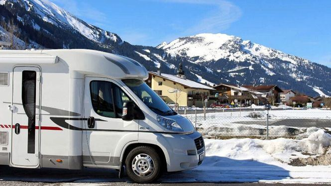 La autocaravana para las escapadas a la nieve