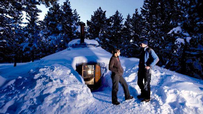 Ideas románticas en la nieve para San Valentín