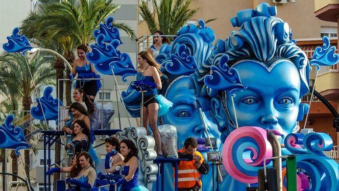 Todo preparado para el Carnaval de Cádiz