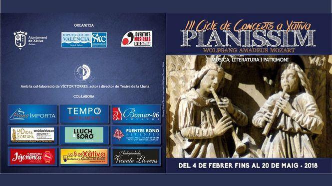 Xátiva une música y Patrimonio en el Ciclo Pianissim