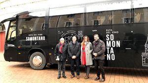 Presentación Bus del Vino Somontano 2018