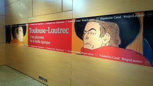 Toulouse-Lautrec y sus carteles en la Fundación Canal