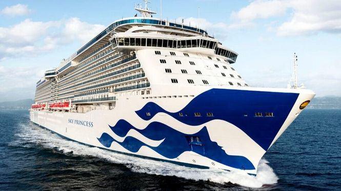 Princess Cruises finaliza la construcción de la pro de su nuevo barco