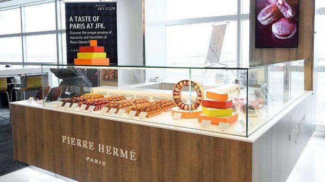 Delta Sky Club se asocia con Pierre Hermé para saborear un trozo de París