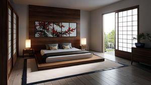 Habitación Zen japonesa