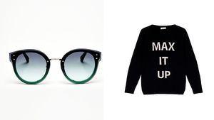 Olivia Palermo de MAX&Co en la Semana de la moda de Milan