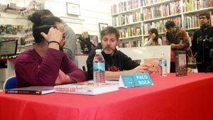 Paco Roca se encuentra en La Encrucijada con José Manuel Casañ