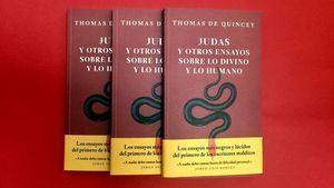 Thomas de Quincey. Judas